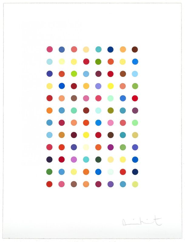 Damien Hirst, 'Xylene Cyanol Dye Solution', 2005, Print, Color aquatint on Hahnemühle etching paper, Lougher Contemporary