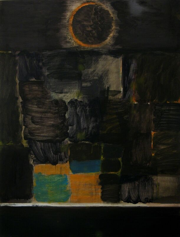 Matthew Burrows, 'Eclipse II', 2015, Painting, Oil on board, Vigo Gallery