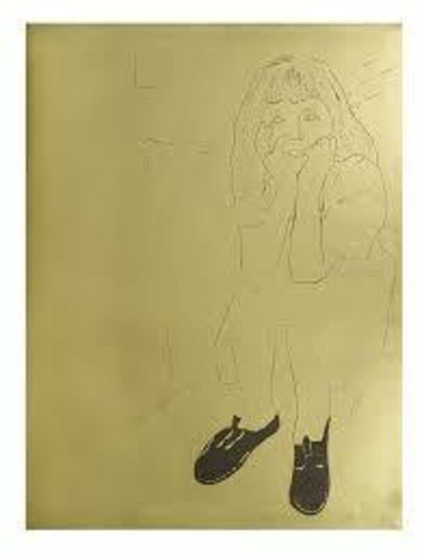 Andy Warhol, 'A Gold Book', 1957, Offset lithograph on gold paper, Rudolf Budja Gallery