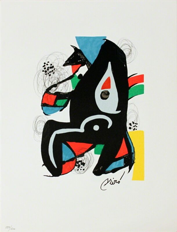 Joan Miró, 'Untitled from La Melodie Acide XIV', 1980, Print, Stone Lithograph, ArtWise
