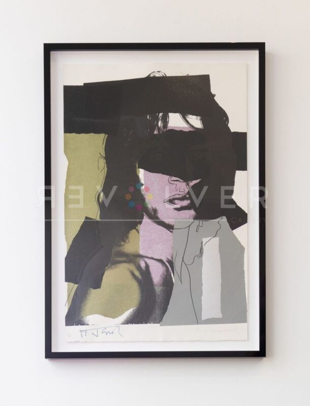 Andy Warhol, 'Mick Jagger (FS II.145)', 1975, Print, Screenprint on Arches Aquarelle (rough) paper, Revolver Gallery