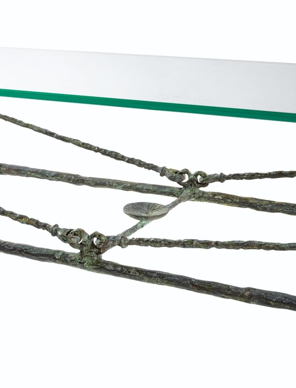 Diego Giacometti, 'Table berceau, première version', ca. 1962, Sculpture, Patinated bronze, BAILLY GALLERY