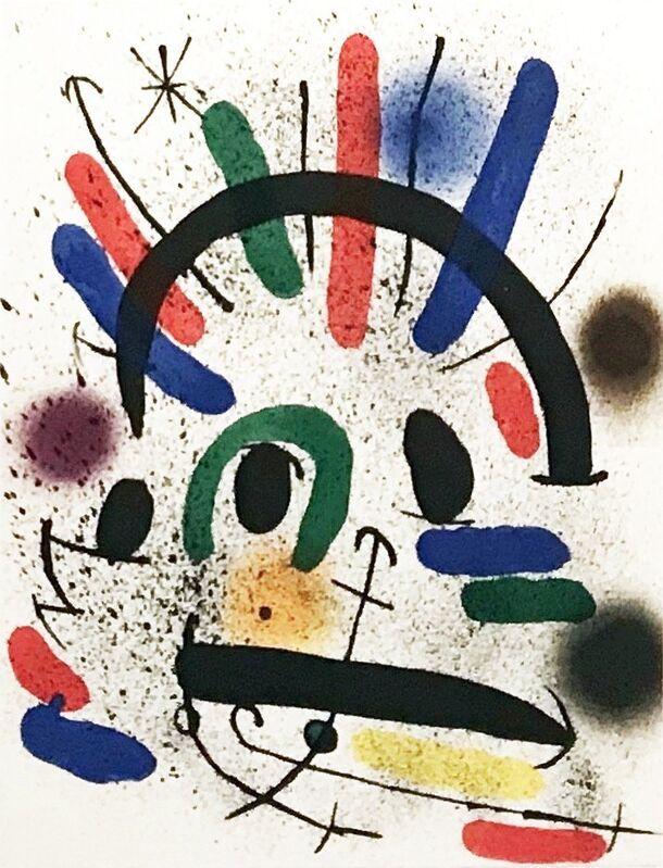 Joan Miró, 'Plate IV', 1972, Print, Lithograph, Georgetown Frame Shoppe