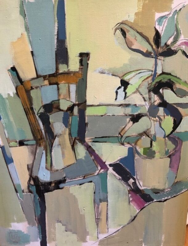 Liz Gribin, 'Room Full of Light', 1976, Painting, Acrylic on canvas, Lily Pad West