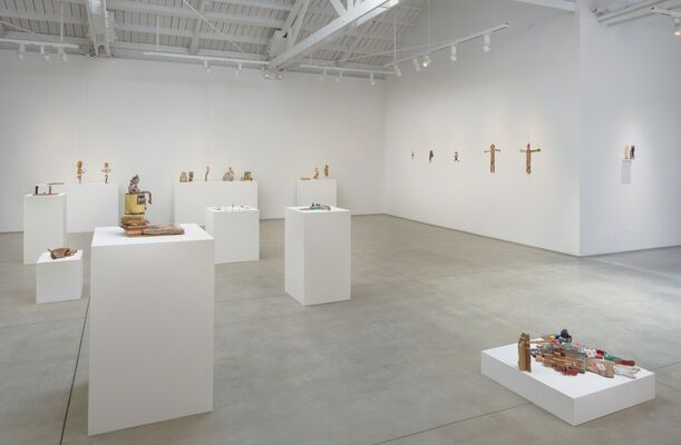 Kristen Morgin There's No Need to Fear, installation view