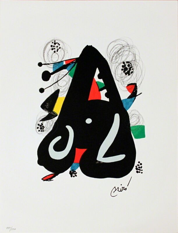 Joan Miró, 'Untitled from La Melodie Acide XIII', 1980, Print, Lithograph, ArtWise