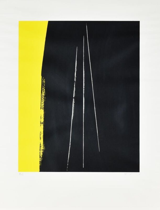 Hans Hartung, 'Composizione', Print, Lithography, Itineris