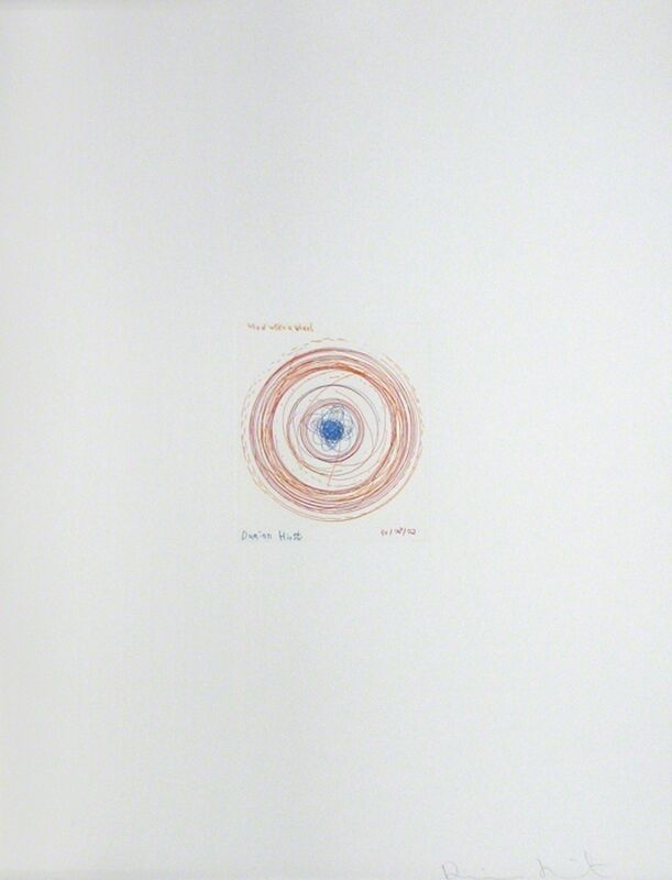 Damien Hirst, 'Wheel Within a Wheel, from In a Spin', 2002, Print, Spin Etching, Gregg Shienbaum Fine Art