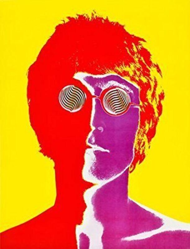 Richard Avedon, 'John Lennon', 1967, Photography, Glossy paper on canvas, AYNAC Gallery