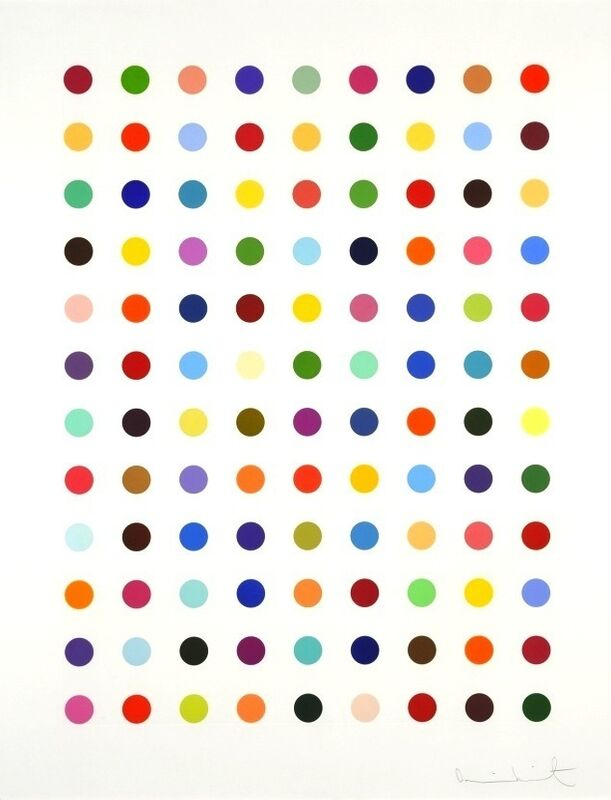 Damien Hirst, 'Flumequine', 2007, Print, Etching, Vogtle Contemporary