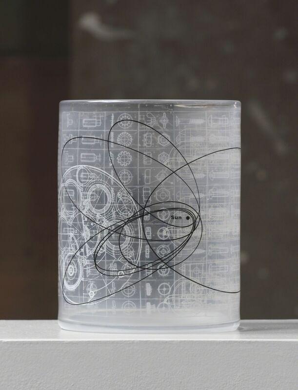 Steffen Dam & Micha Karlslund, 'ENZO IN ORBIT', 2016, Design/Decorative Art, Glass/enamels, Heller Gallery