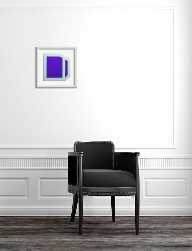 Brent Hallard, 'Plumb Purple (mint) (Abstract painting)', 2014, Painting, Acrylic on aluminum, IdeelArt