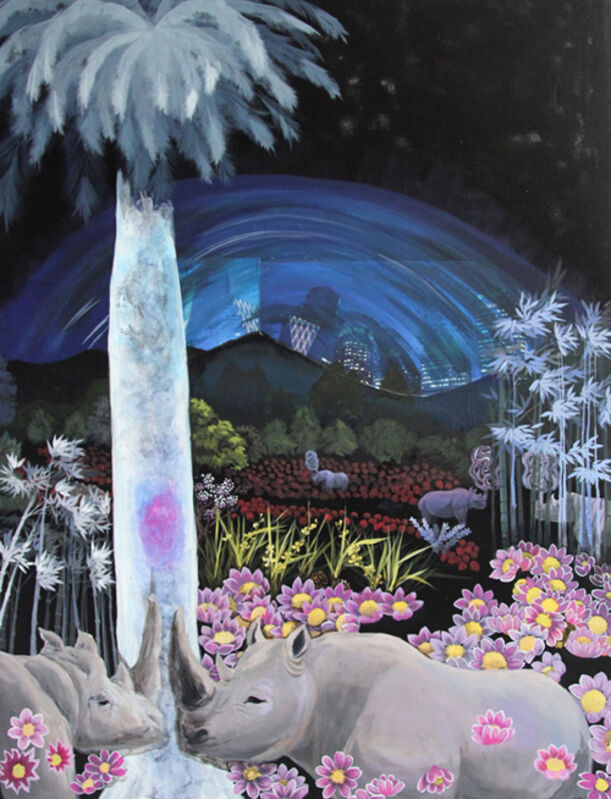 Jiseon Kim, 'The legend -other planet story', 2014, Painting, Acrylics on canvas, Leeseoul Gallery
