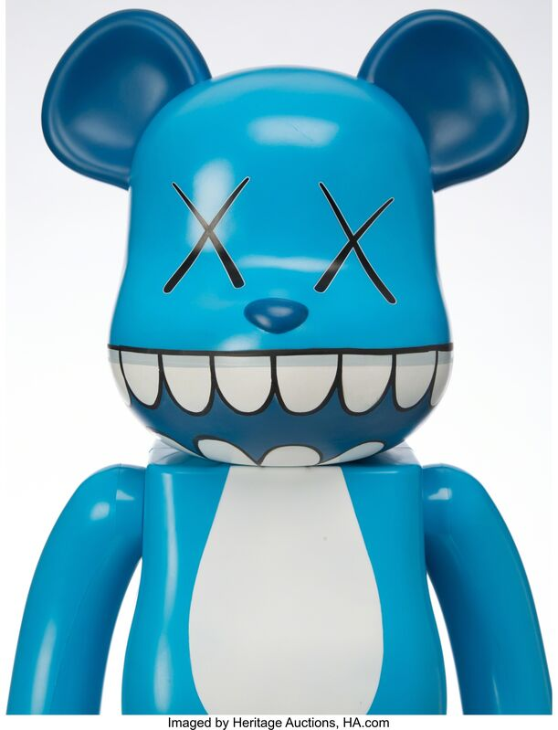 KAWS, 'Chompers BE@RBRICK 1000%', 2003, Other, Painted cast vinyl, Heritage Auctions