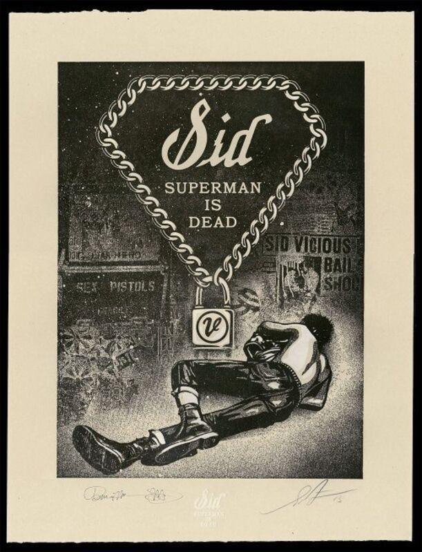 Shepard Fairey, 'Sid Superman Is Dead - Signed/Numbered Print Box Set OF 10 - FRAMED', 2013, Screenprint, Rudolf Budja Gallery