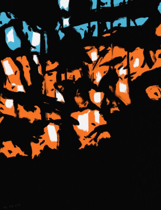Alex Katz, 'Alex Katz, Sunrise', 2020, Painting, Archival pigment inks on paper, Oliver Cole Gallery