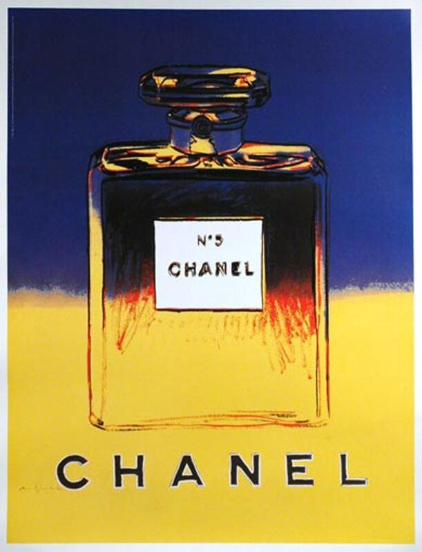Andy Warhol, 'Chanel', ca. 1997, Ephemera or Merchandise, Offset lithograph mounted on linen backing, EHC Fine Art