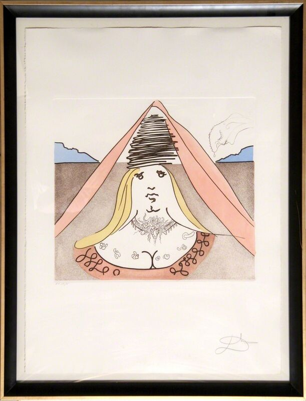 Salvador Dalí, 'The Lady of Dulcinea', 1981, Print, Etching with Aquatint, RoGallery