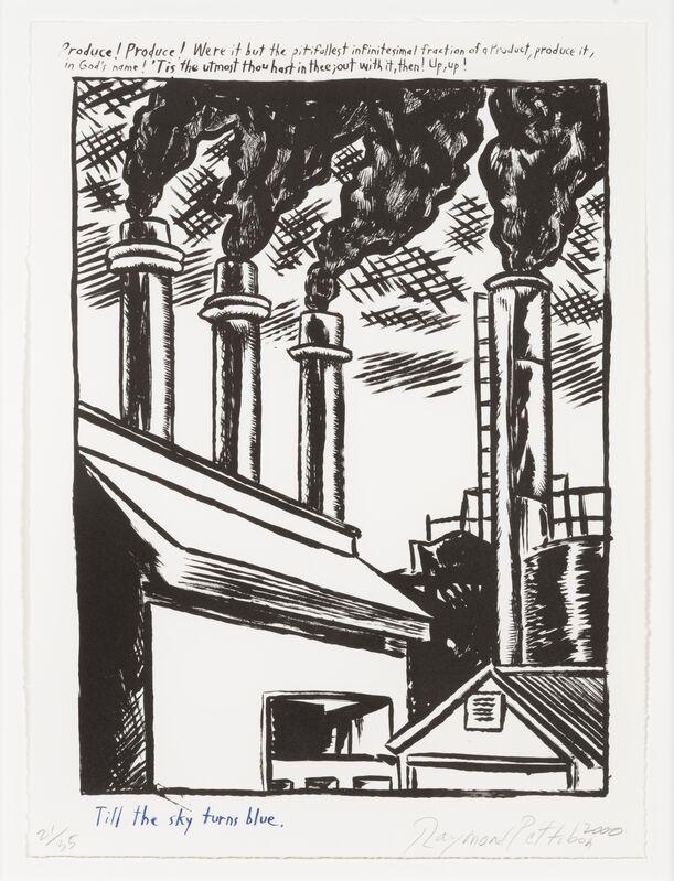 Raymond Pettibon, 'Untitled', 2000, Print, Lithograph, Leslie Sacks Gallery