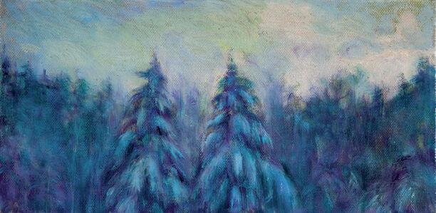 Jim Schantz, 'Twin Pine Dusk', 2018
