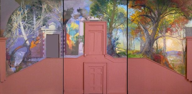 Lincoln Perry, 'Maquette for East Stairway Mural, Old Cabell Hall, University of Virginia'