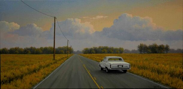 Simon Harling, 'Logging Road, Cadillac'