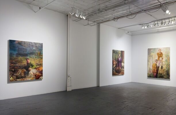 """Dan Voinea, """"Blindscape: There from Where Nothing Can Be Seen"""", installation view"""