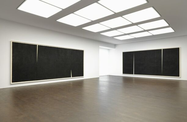 Richard Serra: Rifts, installation view
