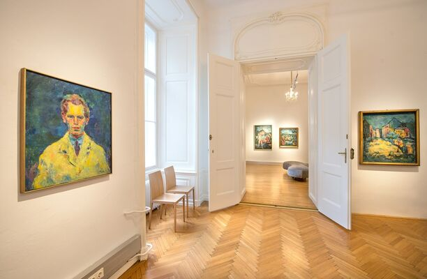 Josef Floch - Vienna, Paris, New York, installation view