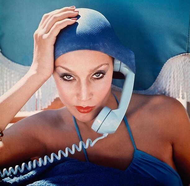 Norman Parkinson, 'Jerry Hall, British Vogue, 1975', ca. 1975