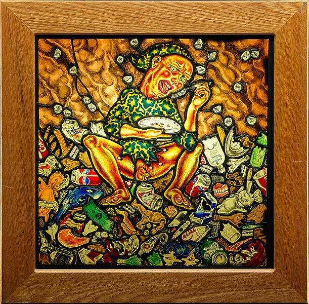 """Judith Schaechter, '""""Waste""""', 1990"""