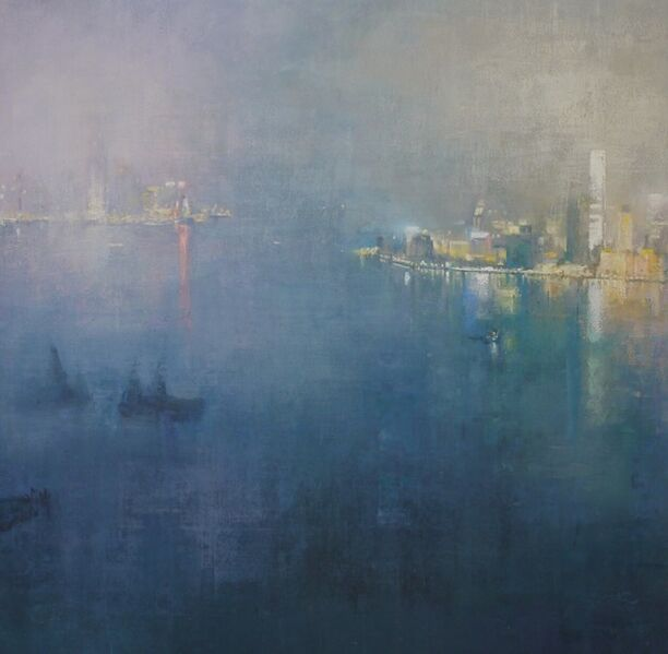Benjamin Warner, 'Tranquil Evening, Hong Kong Harbour', 2017
