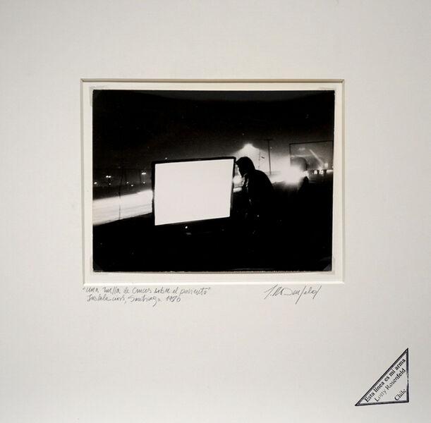 Lotty Rosenfeld, 'Una milla sobre el pavimento / Noche', 1979