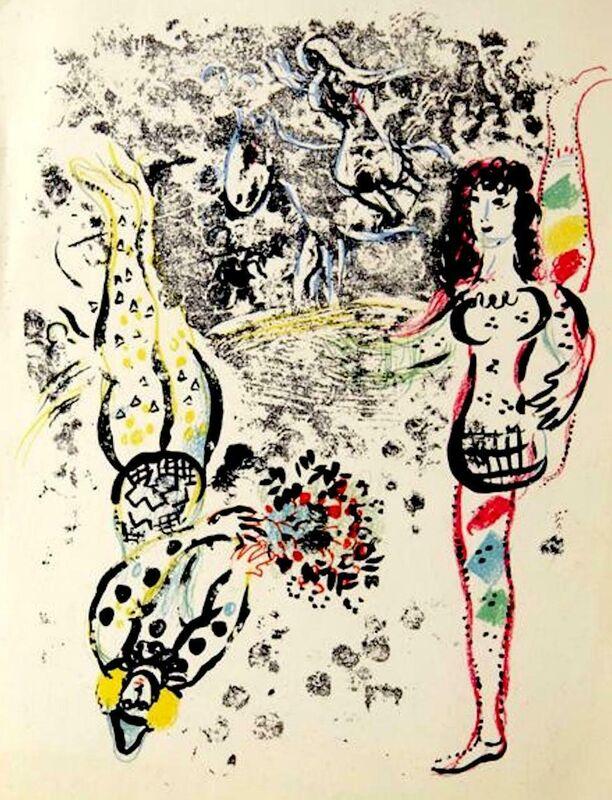 Marc Chagall, 'Le Jeu des Acrobates Portfolio: Lithographs Book II', 1963, Print, Lithograph, Fine Art Acquisitions Dali