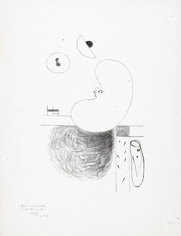 Joan Miró, 'L'Arbre des voyageurs: III', 1930, Print, Lithograph, Sims Reed Gallery