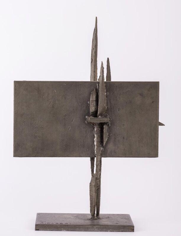 Agenore Fabbri, 'Crocifissione', 1962, Sculpture, Tinned iron, Itineris