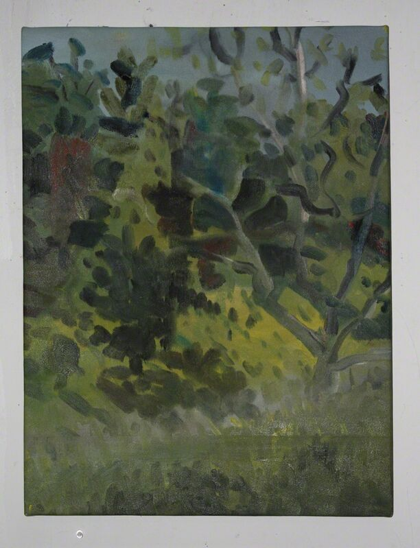 Daniel Heidkamp, 'First Forest', 2013, Painting, Oil on linen, Knowmoregames
