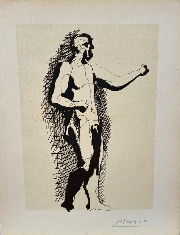 Pablo Picasso, 'Handsigned Lithograph', unkown, Painting, Lithograph, Kings Gallery