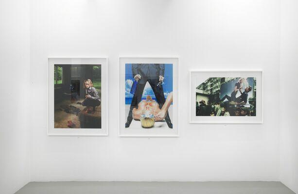 Hank Willis Thomas: Unbranded- A Century of White Women, 1915- 2015, installation view