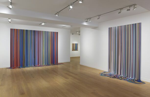 Ian Davenport: Colourscapes, installation view