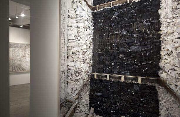 Marjan Teeuwen   Destroyed House, installation view