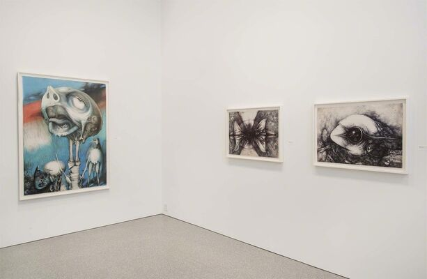 Theodore Roszak: Propulsive Transfiguration, A Survey of Drawings from 1928 to 1980, installation view