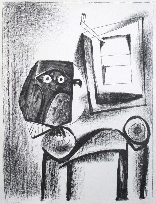 Pablo Picasso, 'Le Hibou noir', 1921, Print, Lithograph, R. S. Johnson Fine Art