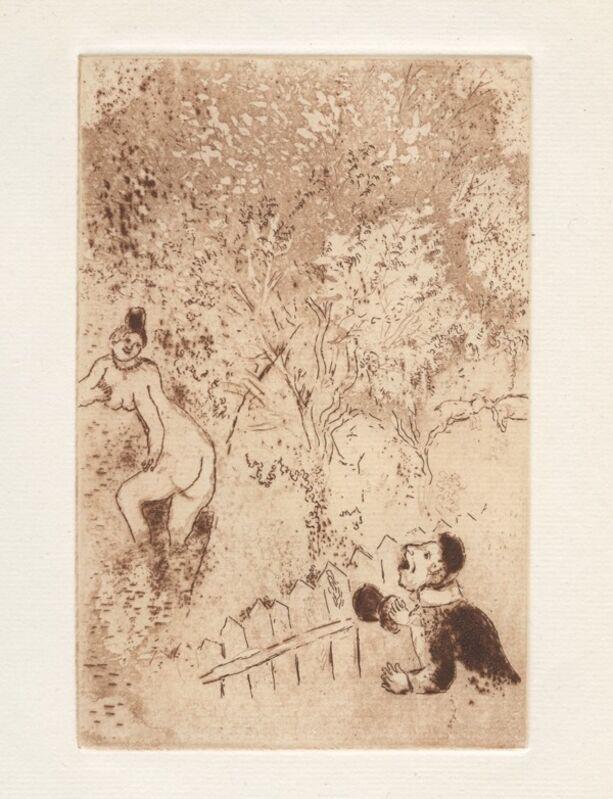 Marc Chagall, 'Les Sept péchés capitaux (The Seven Deadly Sins)', 1926, Books and Portfolios, 16 original etchings on Hollande paper, Samhart Gallery