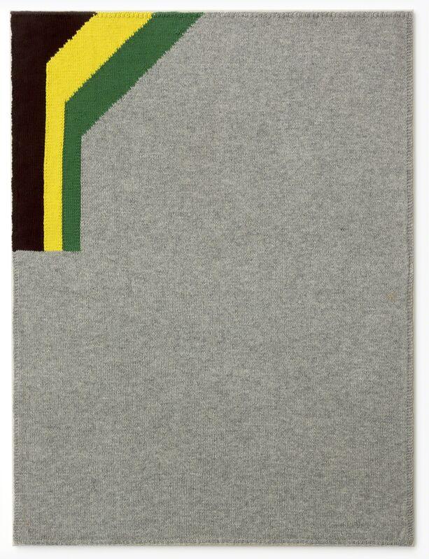 Sergej Jensen, 'Untitled', 2003, Mixed Media, Handknitted wool on linen, White Cube