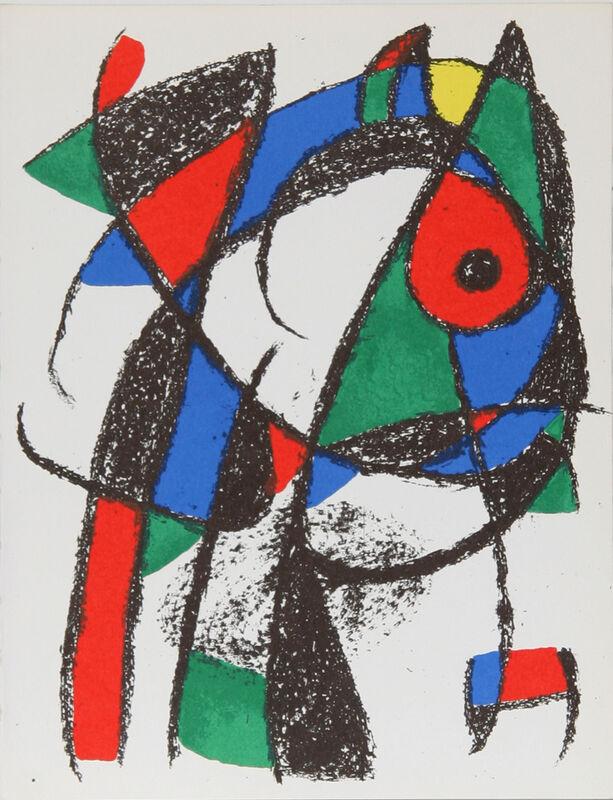 Joan Miró, 'Lithograph I (1037)', 1975, Print, Lithograph, RoGallery
