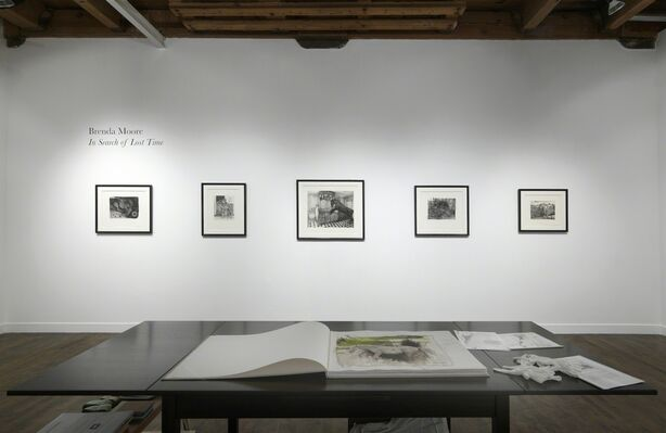 Brenda Moore: In Search of Lost Time, installation view