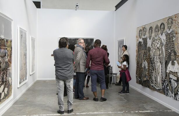 ARTCO Gallery at Art Paris 2019, installation view