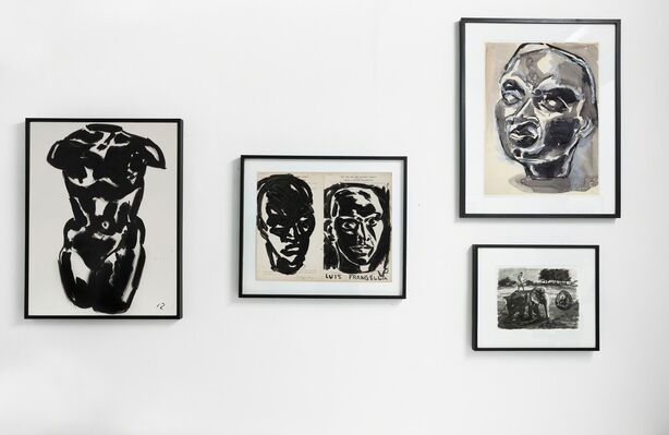 LUIS FRANGELLA & DAVID WOJNAROWICZ: NEW YORK / BUENOS AIRES, 1984. BEFORE AND AFTER., installation view