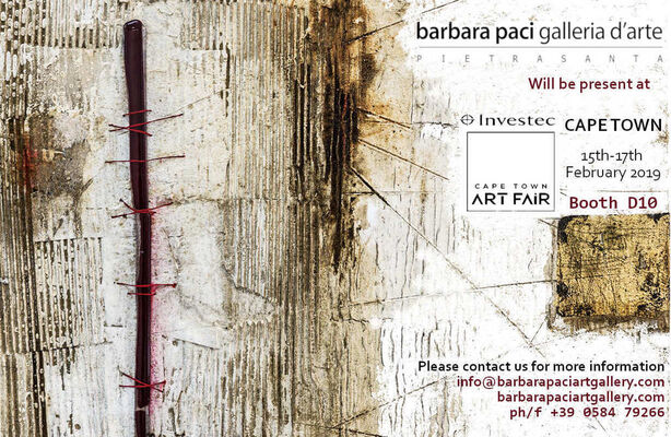 Barbara Paci Art Gallery at Investec Cape Town Art Fair 2019, installation view